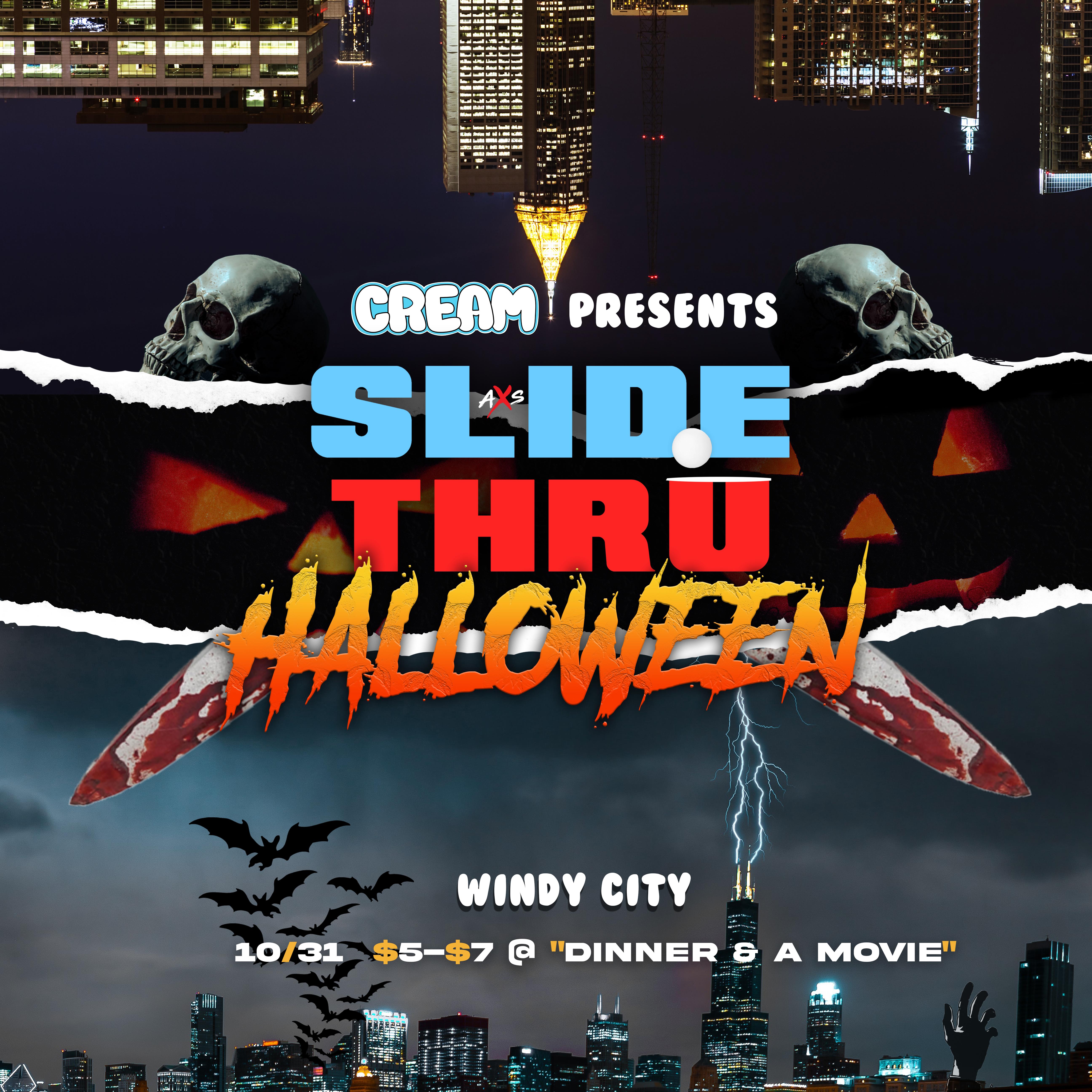 Slide Thru Halloween: Chicago cover