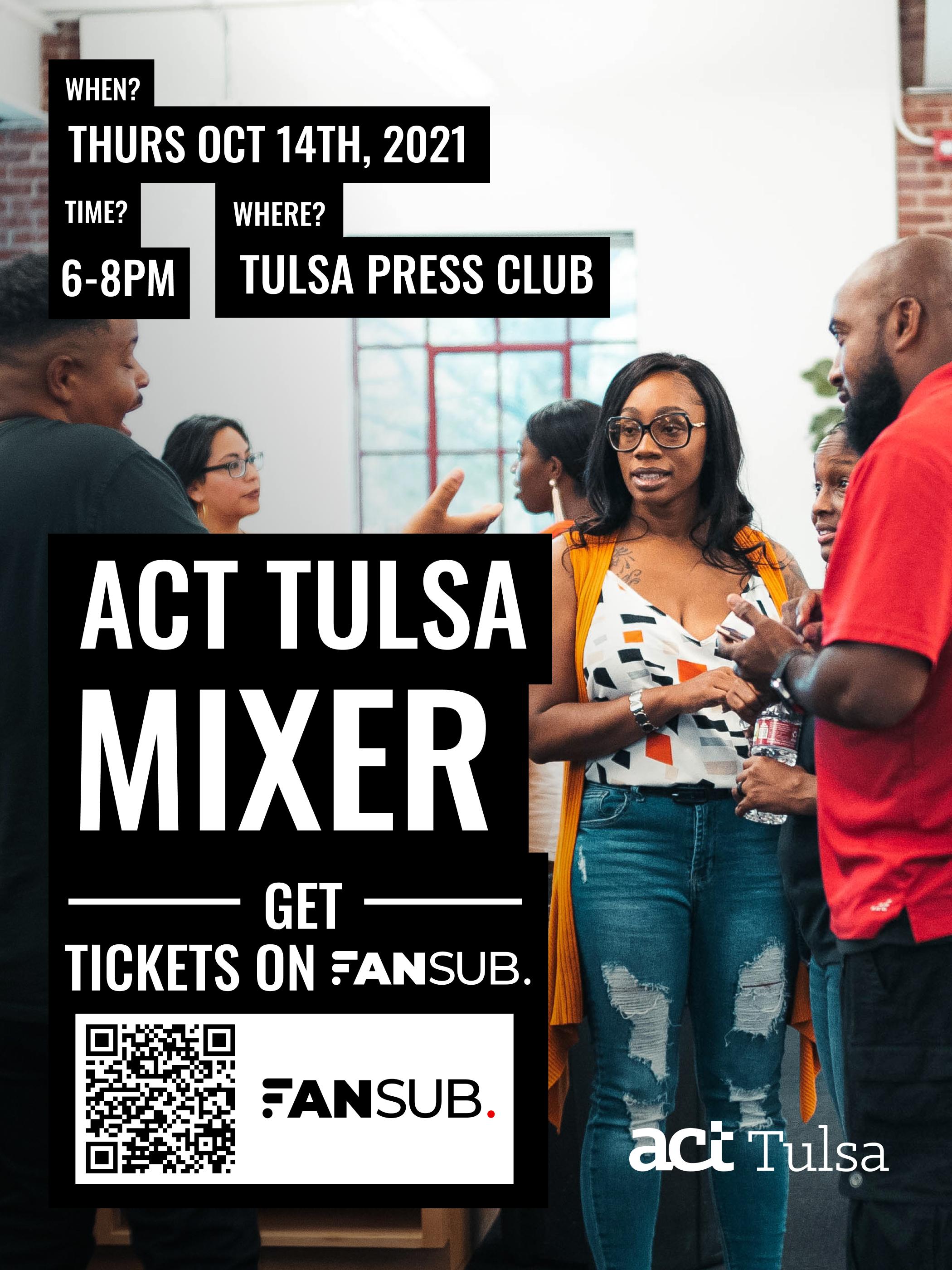 The Act Tulsa Mixer  cover