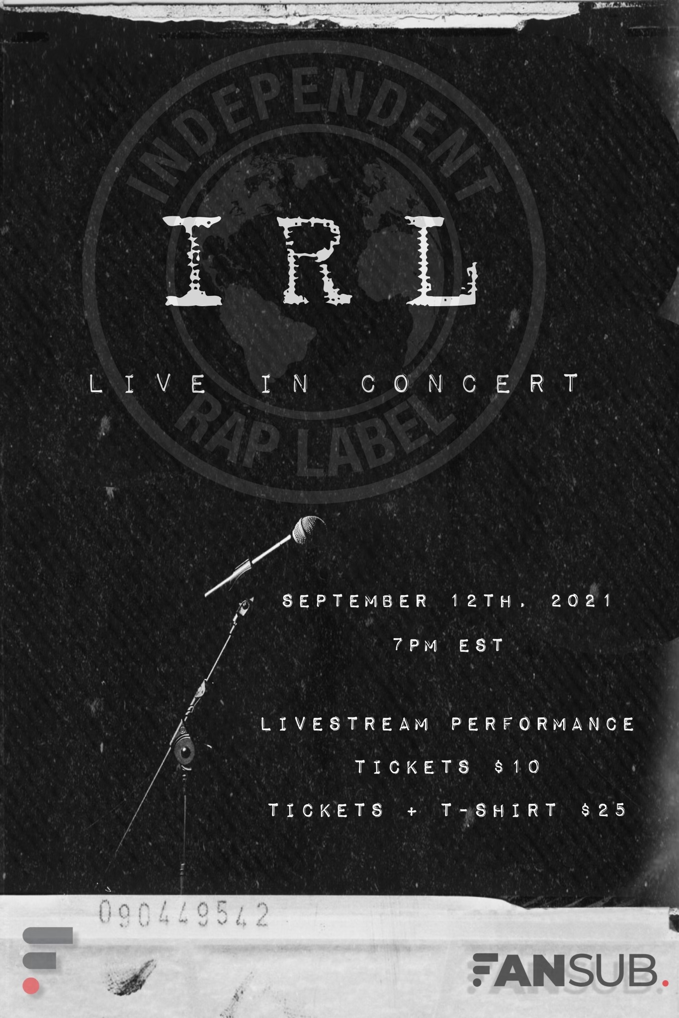 IRL Live In Concert cover