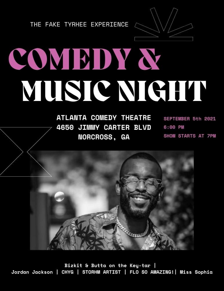 The Fake Tyrhee Experience | Live from Atlanta, GA cover