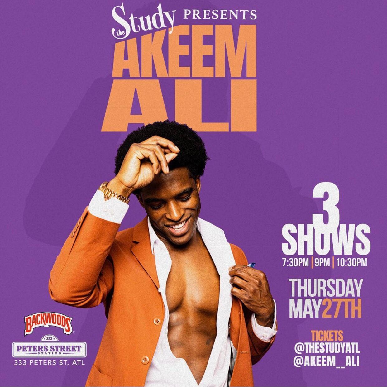 Street Execs Presents: The Study w/ Akeem Ali cover